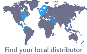 Andersen Distributor Map